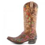 Floral Old Gringo Cowboy Boots