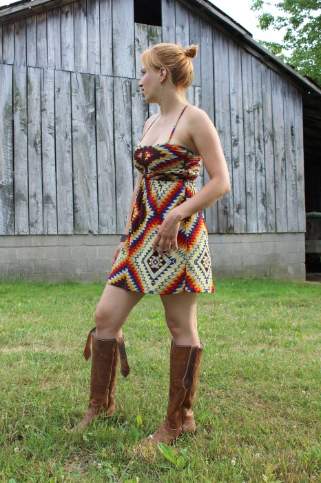 Olathe tall tops & a navajo dress