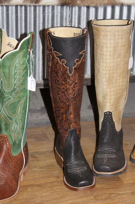 cowboy boots at Davis Boots