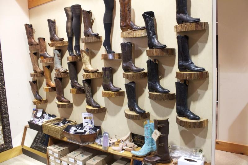 cowboy boots at Pinto Ranch