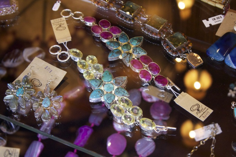 colorful western jewelry