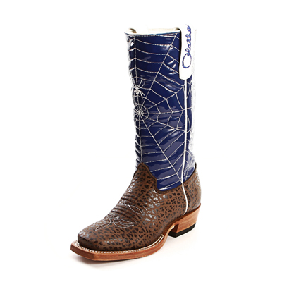 Olathe Kids Spider Web Cowboy Boots