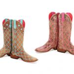 Macie Bean Patchwork Cowboy Boots
