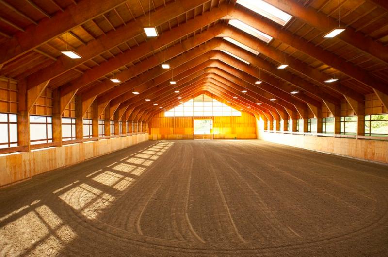 Riding Arena Natural Light