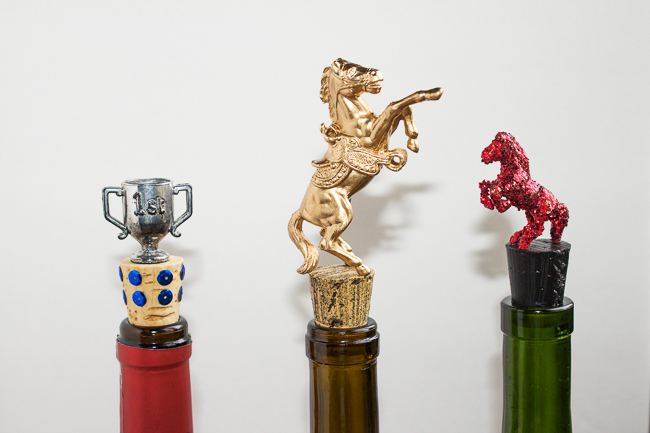 DIY: Equestrian Themed Wine Stoppers