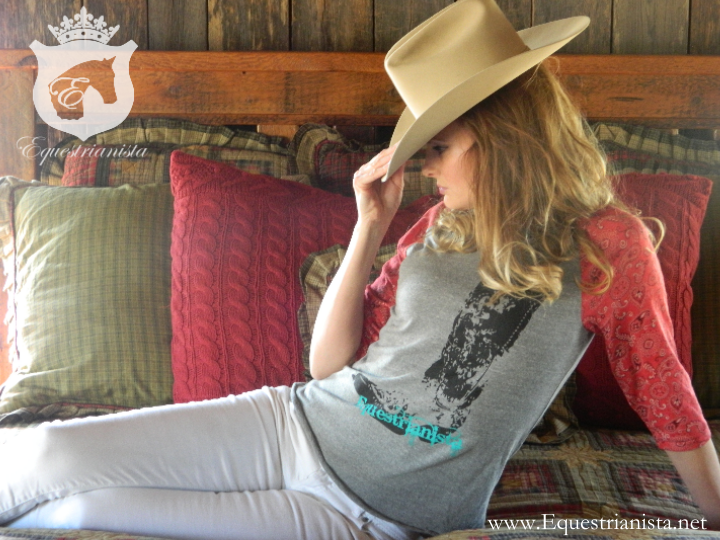 Equestrianista Cowboy Boot tee
