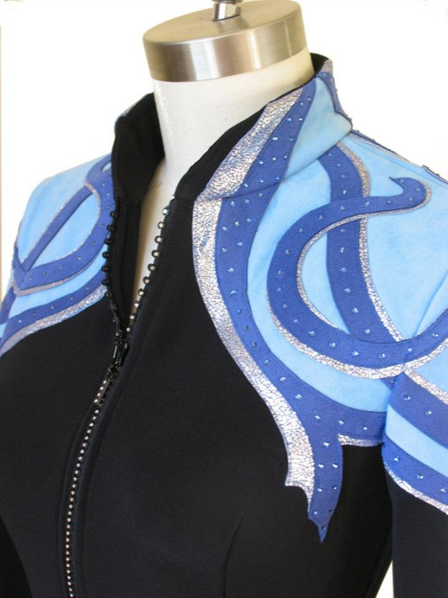 Lasting Impressions Black and Blue Jacket