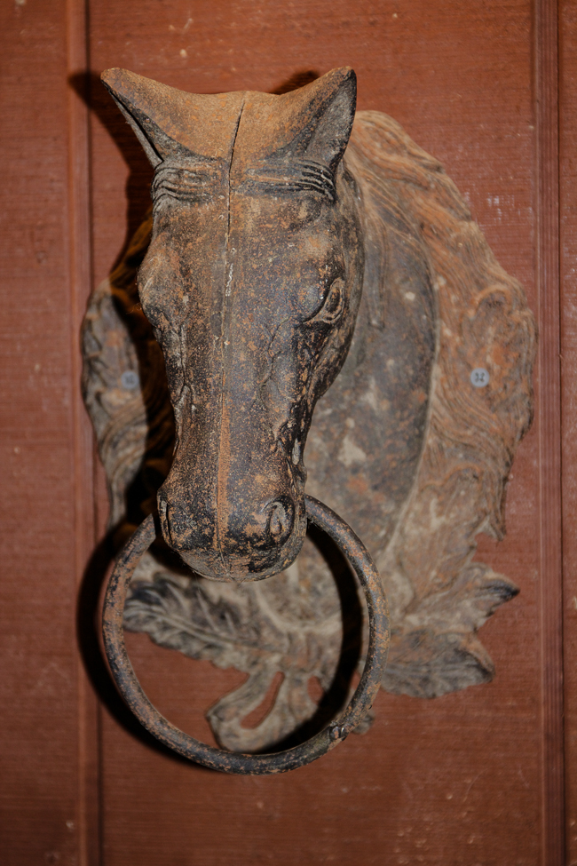 Antique Horse Fixture | Stable Style
