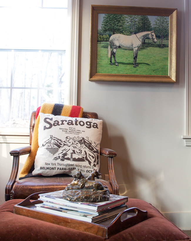 Rebecca Ray Designs Pillow and horse art