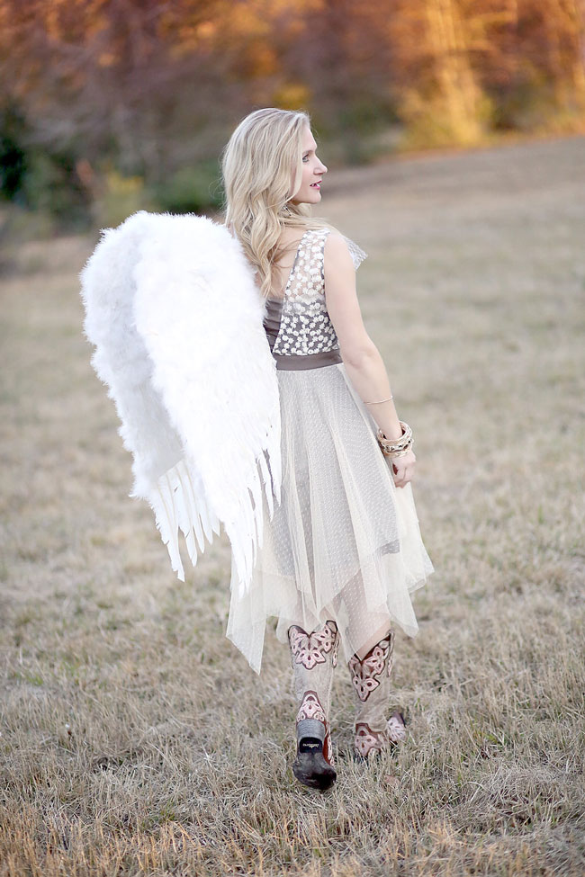 Angel Wings and Cowboy Boots
