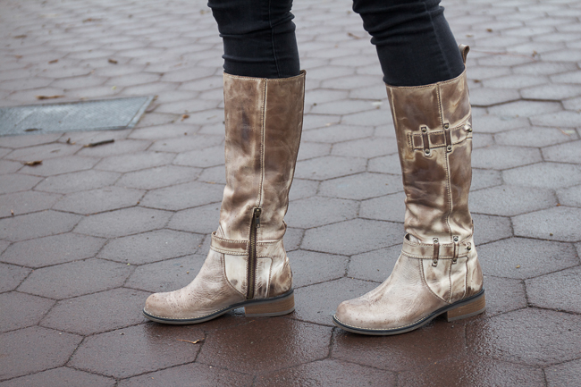 Corral Taupe Tall Top Boots