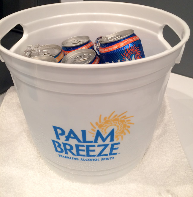 Cold Bucket of Palm Breeze