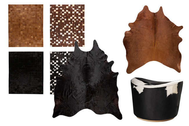Favorite Cowhide Pieces from IKEA