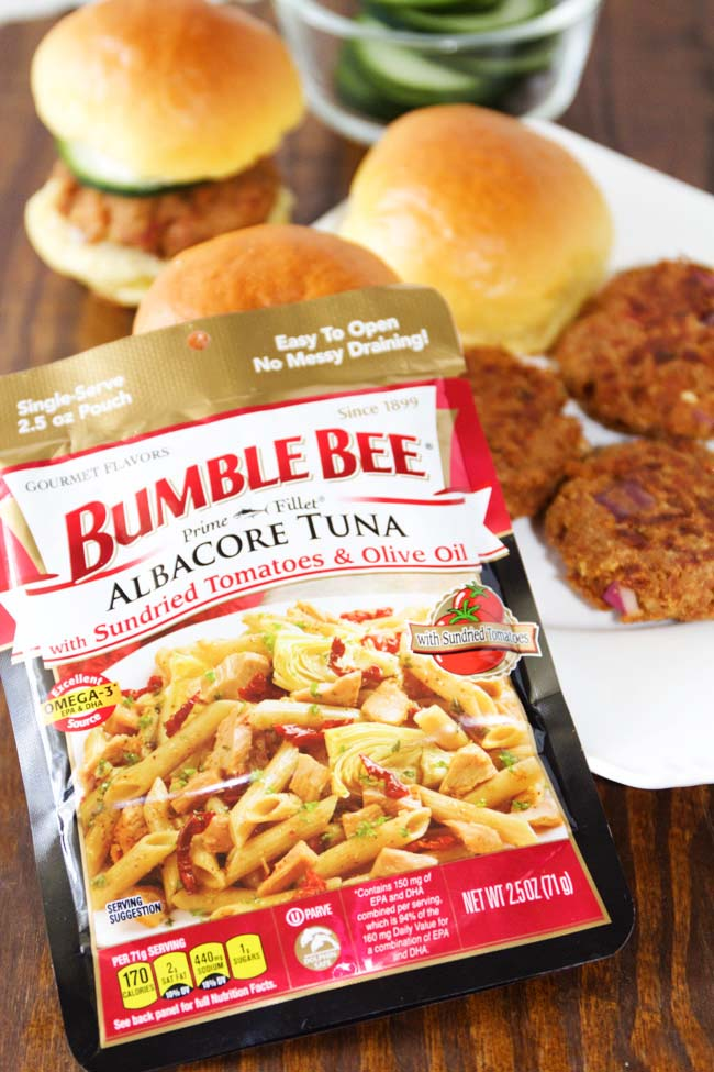 Bumble Bee Albacore Tuna with Sundried Tomatoes and Olive Oil