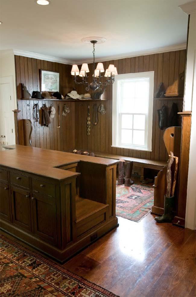 Charming tack room
