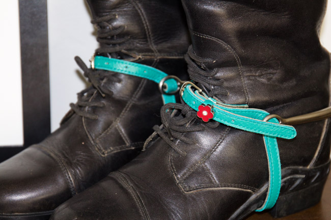 ManeJane Spur Straps Close Up