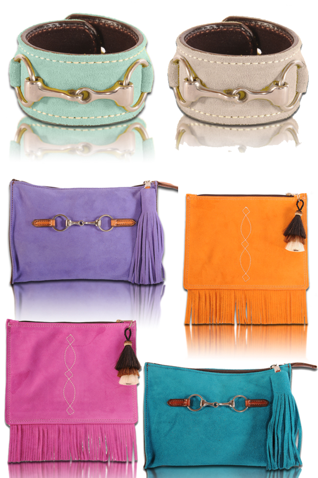 Bright Summer Suede Collection from Rebecca Ray Designs