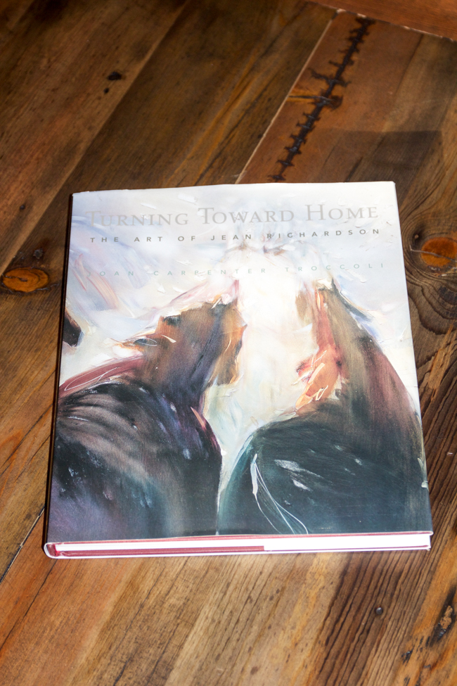 Turning Toward Home - The Art of Jean Richardson Coffee table book