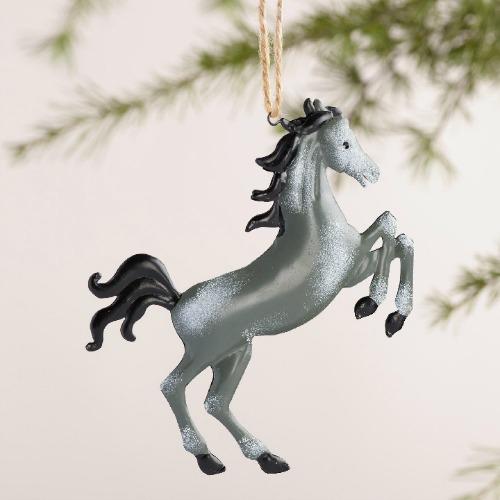 Metal horse ornaments