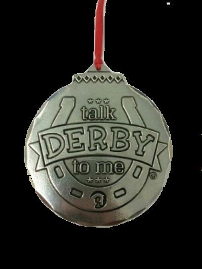 Talk Derby Ornament