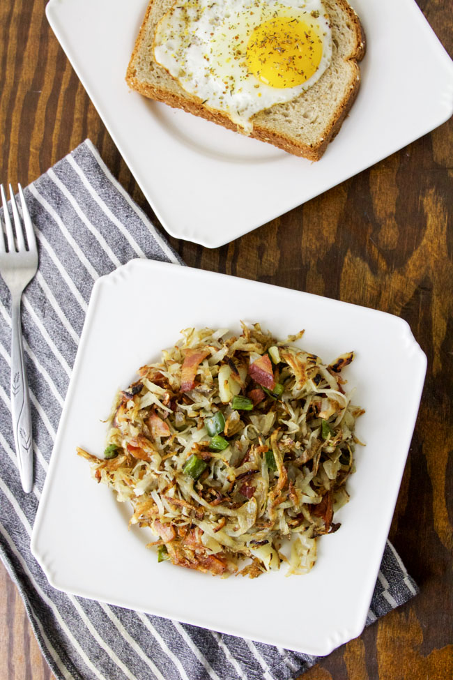 Jalapeno Bacon Hash Browns make a delicious breakfast meal