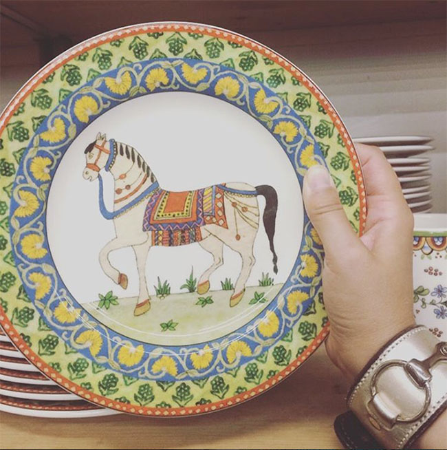 3 Equestrian Dinnerware Collections