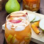 Fruit & Cinnamon Sangria for Fall
