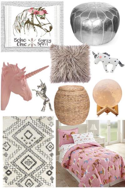 pink pony bedroom